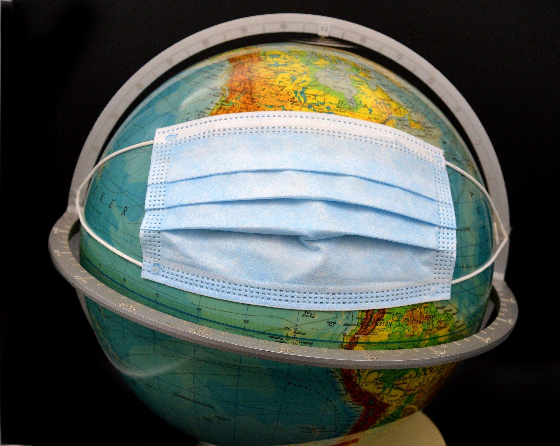 globe covid mask